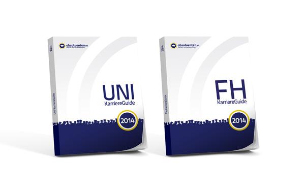 UNI und FH KarriereGuides 2014 – kostenlos bestellen