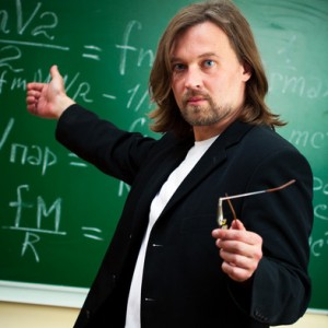Professoren sind schlechte Lehrer